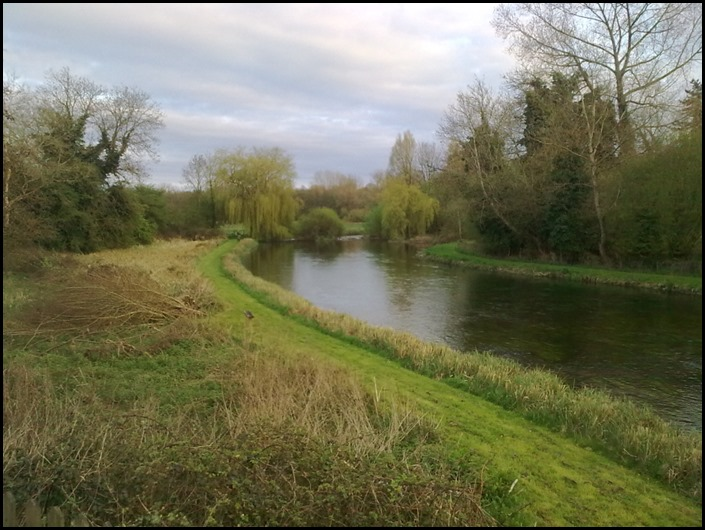 a fly fishing on kennet