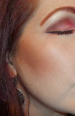 wearing Too Faced Pardon My French Collection Look 2_full Face side angle