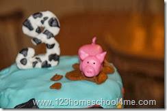 DIY Marshmallow Fondant Pig