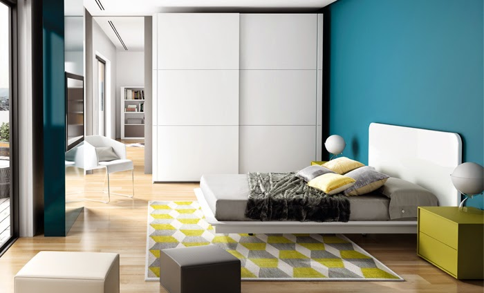 Dormitorio en blanco - Colores actuales para pintar paredes ...