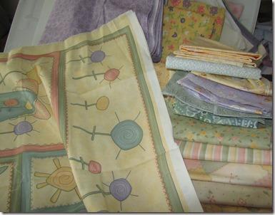 the starting fabrics