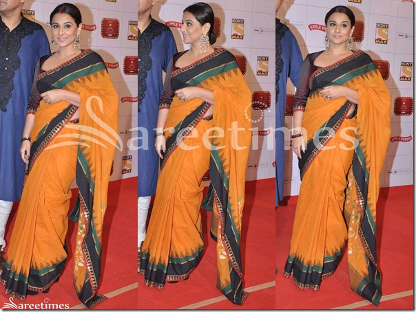 Vidya_Balan_Sabyasachi_Yellow_Saree