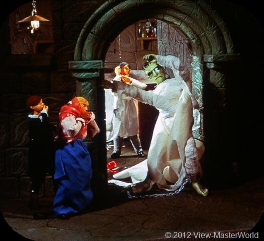 View-Master Frankenstein (B323), Scene B2