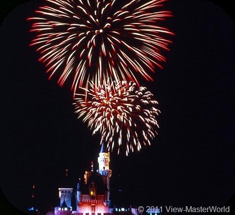 View-Master Fantasyland (A178), Scene 3-7: Fireworks