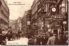 faubourg Montmartre -®Phot.desJeunesParisiens