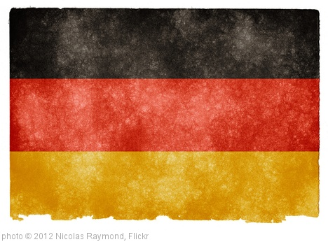 'Germany Grunge Flag' photo (c) 2012, Nicolas Raymond - license: http://creativecommons.org/licenses/by/2.0/