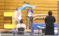 gymnastics vault