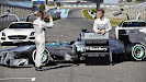 HD pictures 2013 Launch Mercedes W04 F1 car