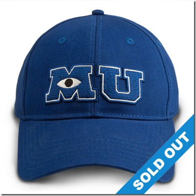 Monster University Official Clothing - Cap