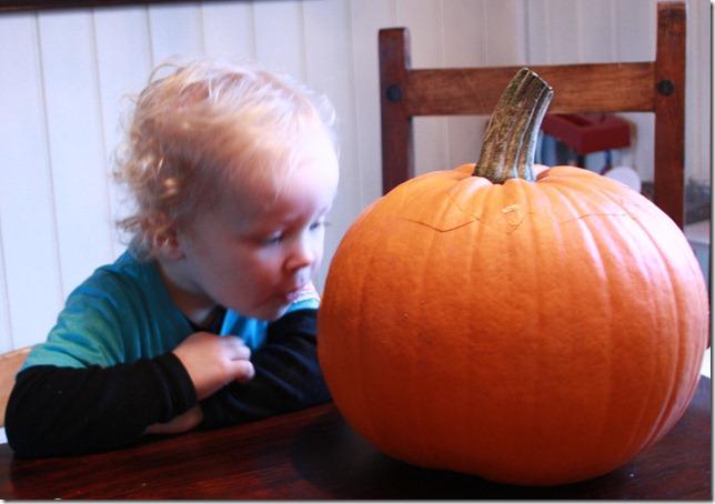 halloween gresskarutskjæring IMG_7338