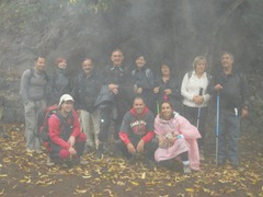 Foto de grupo antes de empezar