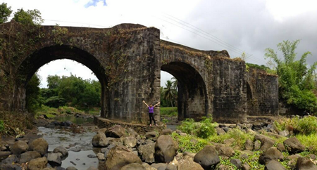 Kara David at Puente de Malagonlong