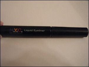 NYC Jet Black Liquid Eyeliner