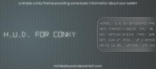 Conky H.U.D.