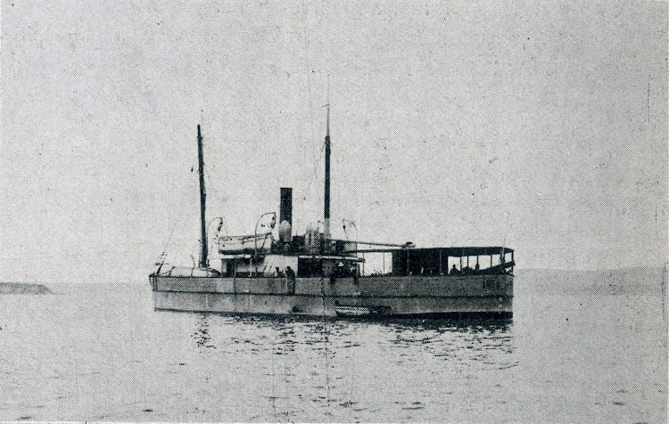 El vapor ANITA sale hacia Nigeria. Vida Marítima, Año IV, Num. 131, Edición de 20 de agosto de 1905.bmp