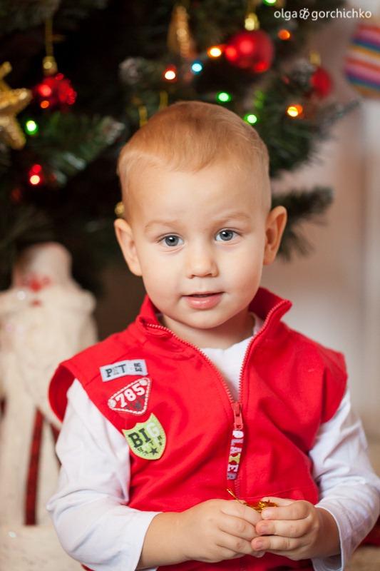 Детский новогодний фотопроект Рождественские мечты. 17. Глеб и Вероника-9761