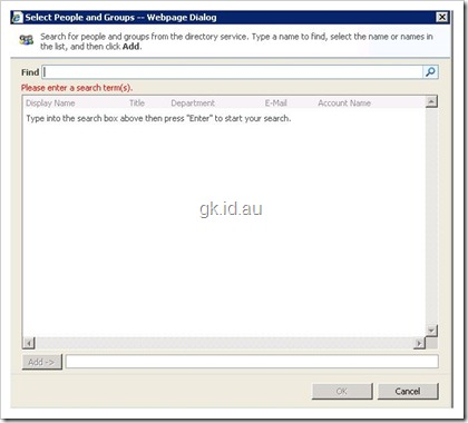 People Picker, SharePoint and Forest Trusts sharepoint 2007 sharepoint
