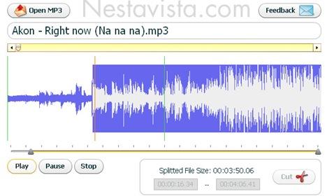Cortar archivos de audio mp3