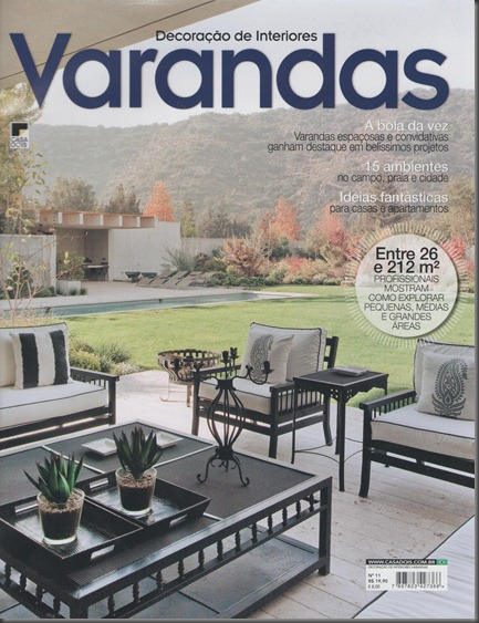 Capa da revista Varandas edição nº11