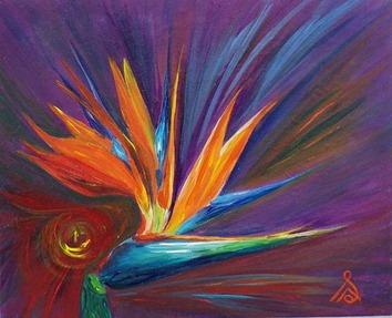 seadean gaia energy painting