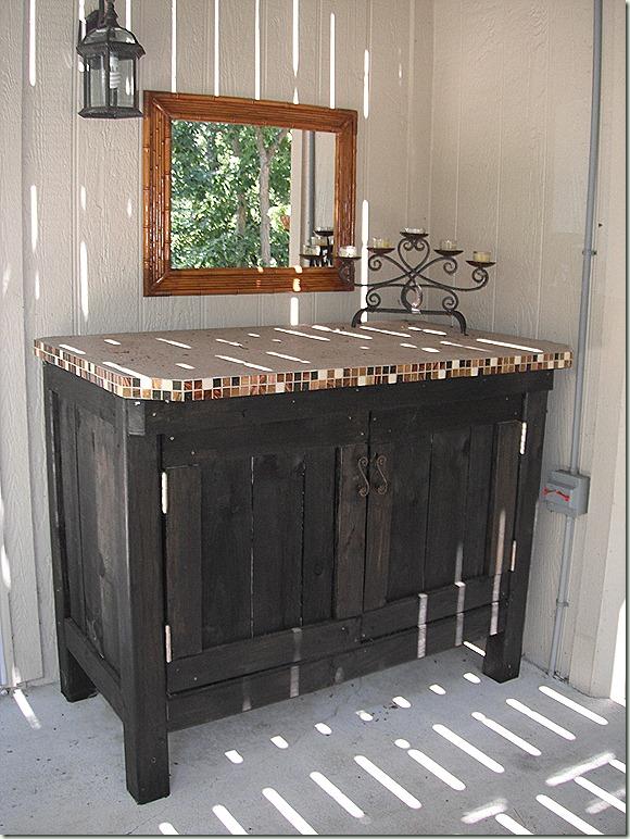 Outdoor Cushion Storage Cabinet