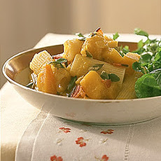 Rigatoni with Pumpkin and Bacon