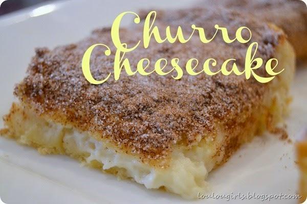 Churro-Cheesecake