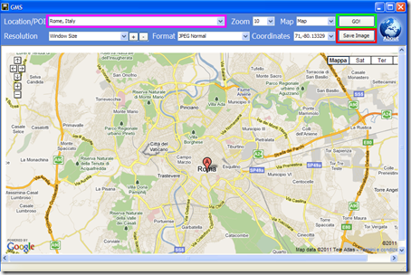 Google Map Saver