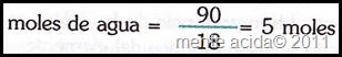 mol quimica