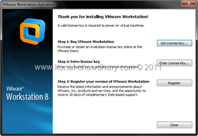 10. Provide License Key to Boot into VM