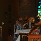 August 19, 2012 Visit by Archbishop Joseph, Trisagion and Blessing of Icon in Memory of Fr. Michael 