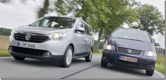 Dacia Lodgy vs VW Sharan 01