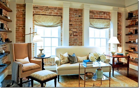 Exposed-Brick-—-Brick-Wall-—-Traditional-Living-Room