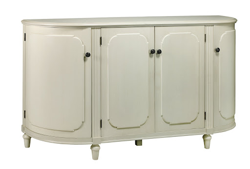 The Ingrid Buffet is a beautiful, vintage looking piece that combines classic elegance with thoughtful functionality.