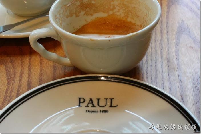 台北-PAUL早午餐。PAUL於西元1889起源於法國。