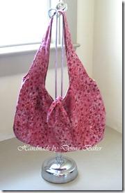 pink batik purse