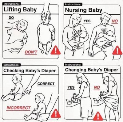 How not to handle baby 1