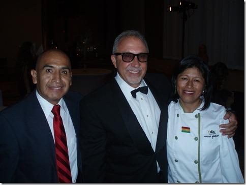 Emilio Estefan Ramiro y Ana Chipana
