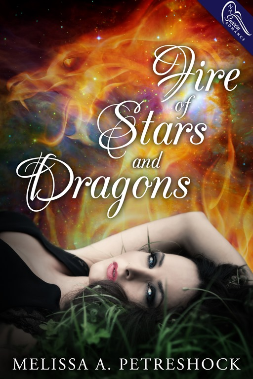 {Cover Reveal} Fire of Stars and Dragons by Melissa A. Petreshock
