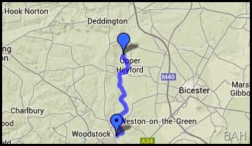 map heyford common