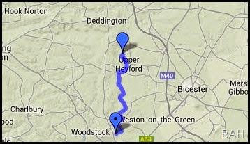 map heyford common
