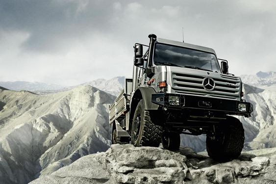 Camiones Mercedes Benz Unimog
