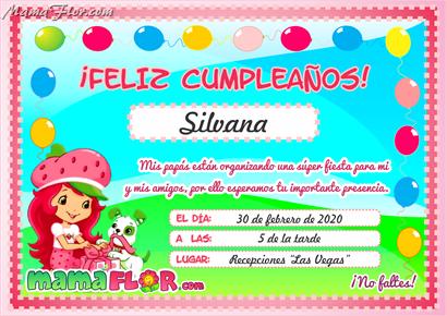 Tarjeta de Cumpleaños de Rosita FRESITA para Imprimir ...