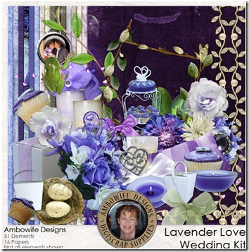 Lavender Love Wedding Kit
