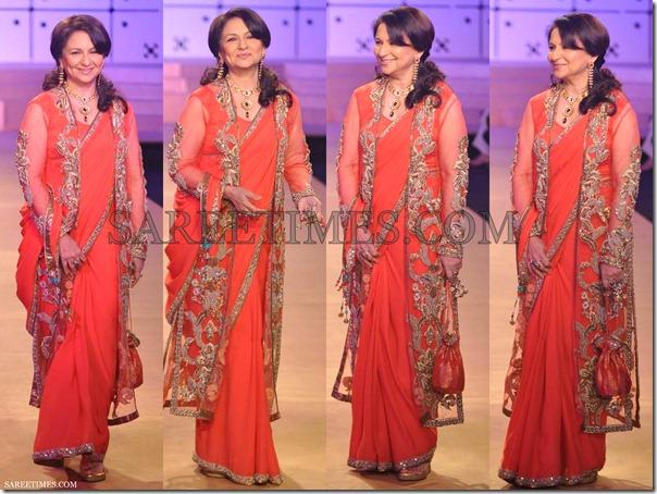 Sharmila_Tagore_Ashima_Leena_Saree