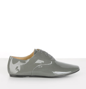 Mason Martin Margiela laced shoes, $259, http://eboutique.maisonmartinmargiela.com/us