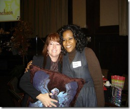 Southern Magic Luncheon 2012 Sherrilyn Kenyon and me