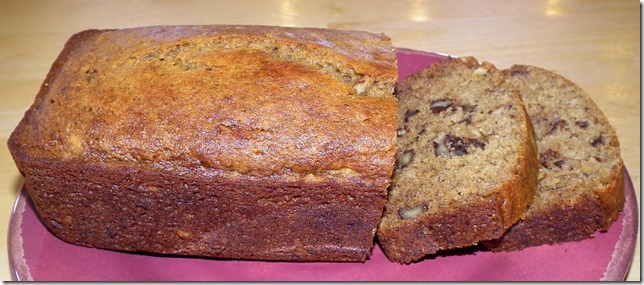 Whole Grain Honey Banana Bread