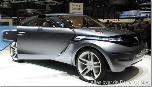 Dacia Duster concept Geneve 2009