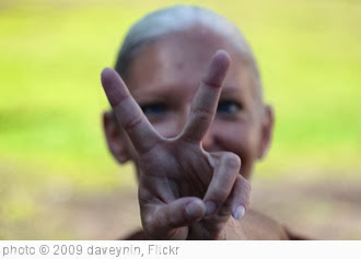 ''Peace' sign' photo (c) 2009, daveynin - license: http://creativecommons.org/licenses/by/2.0/
